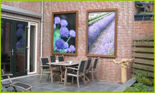 Tuinposter voorbeelden - Voorbeeld van tuindecoratie ...