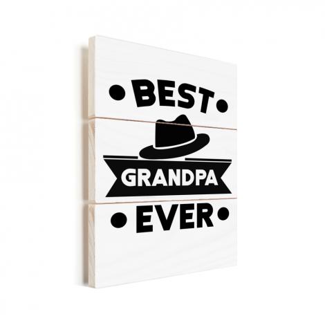 Vaderdag - Best grandpa ever Vurenhout