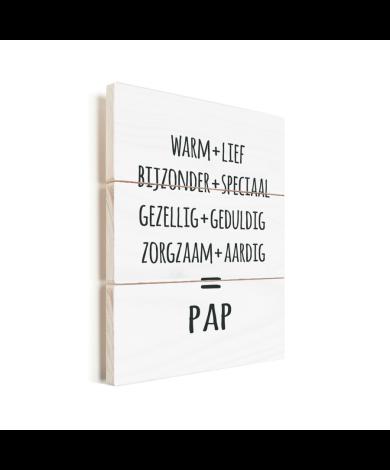 Vaderdag - Pap Vurenhout