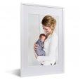 fotolijst moeder en baby witte lijst