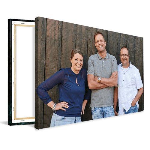 Tuinposter houten frame