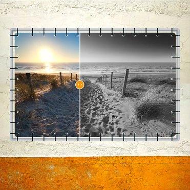 Fotobewerkingen tuinposter
