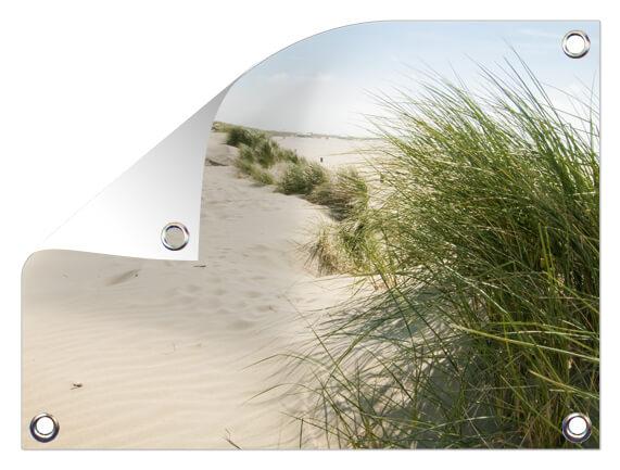 Tuinposter met strand