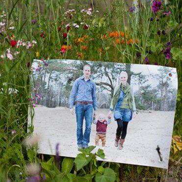 Klantenvoorbeelden en klantreacties van tuinposters